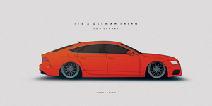 Audi A7 by AeroDesign94