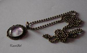 Pendant of the Violet by KaoriArt
