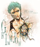 Bleach : Grimmjow by H2O-kun