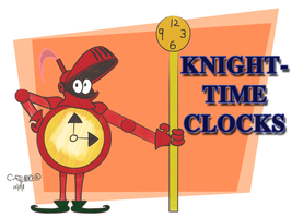 Mascot Design 4 Clocks by qwertypictures