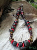 Shaman Warrior necklace by SuvetarsWell