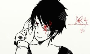 Blind Izaya2 by catfirmella67number2