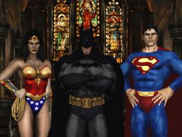JLA wallpaper 3 by ethaclane