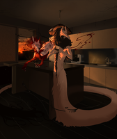 Blood and coffee by Lingrimm