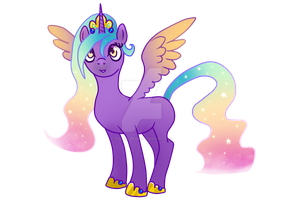 Alicorn adoptable points auction -closed- by Golden-Birdie