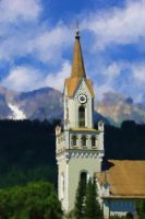 Mountain Steeple Texed by dreamerskreation