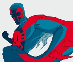 Spider man 2099 eps by Silver2012