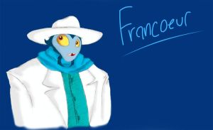 Colored Francoeur Sketch by chocolatetunda