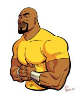 Luke Cage by TomMartinArt