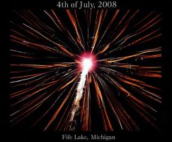 Fireworks at Fife Lake by AG88