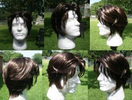 Squall Wig Commission by xHee-Heex