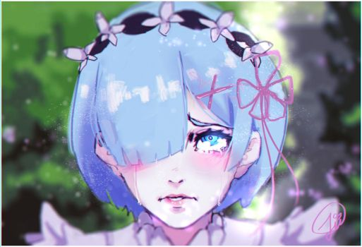 Fanart Rem Re:Zero by Jinoria