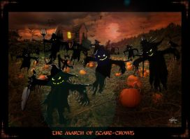 the march of scare-crows by mickeyrem