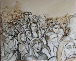 Crowd II by in2ni