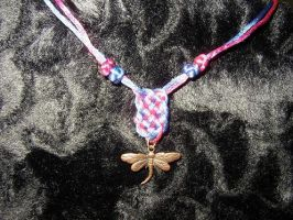 dragonfly with prosperity knot by Saurou