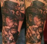 Lemmy by tattooedone