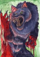 Lycan Blood Lust by shiverz