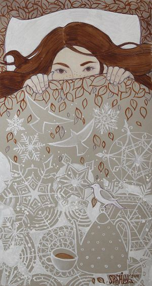 from autumn to winter by AnnWeaver