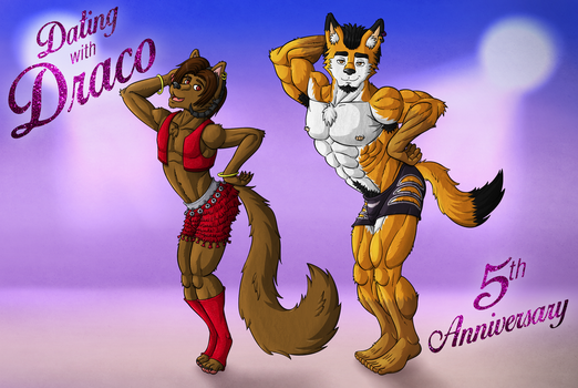 Anniversary Zootopia Style by Wolfan-foxD