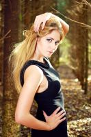 Aurelia in Wood 1 by SmileyG
