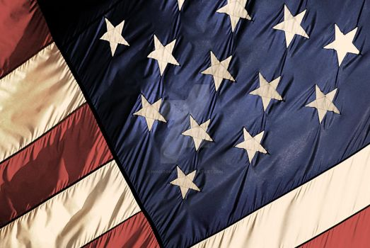 Stars and Stripes Old Glory by houstonryan