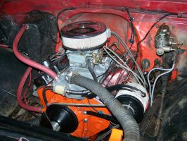 New engine in 1970GMC by rubies52