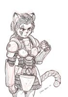 Armoured kitty... by s0lar1x