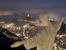 Christ Redeemer by Alzir