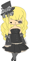 Haunted Jealousy Chibi by Quixant