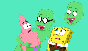 KB: You, Spongebob and Patrick by Raygirlbases