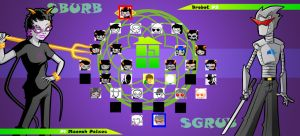 Homestuck The Game Meenah VS Brobot by Video320