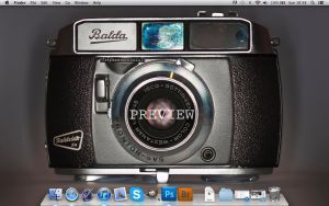 Retro Camera Desktop by NGraingerPhoto