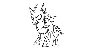 Changeling Vector - Inkscape by Killfire-Sk