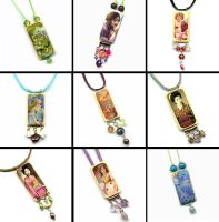 Collage Pendants by namoaj