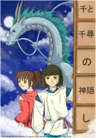-+- Spirited Away -+- by crying-shinigami