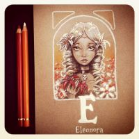 E is for Eleonore by Disezno