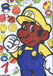 It's A Me Kario 2 (Colour Version) by KStarboy