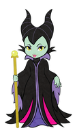 Maleficent by kitchycat