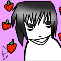 Death note Avatars - L Lawliet by DimensioGirl