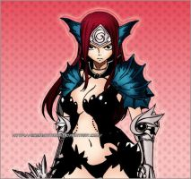 Erza-Sea Empress Armor by ErzaxTitania