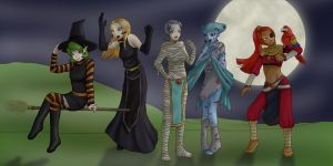 Ocarina Of Time - Halloween by Aitia