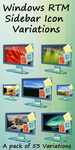 RTM Sidebar Icon Variations by greyham6