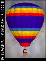 Hot Air Balloon 004 by poserfan-stock