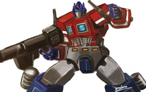 Optimus_Prime by gen5