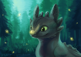 Glowing Friends by Silverbirch