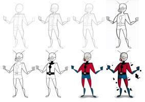 AntMan process by kungfumonkey