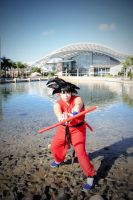 Dragon Ball_Kid Goku_Cosplay 2 by Kixianth