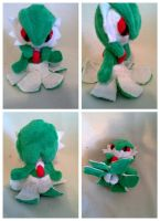 Small gardevoir plush for sale by LRK-Creations