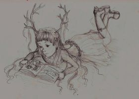 reading time by X3carlyX3