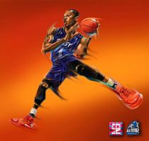 NBA AllStar DRose by A-BB